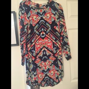 👗 WAYF Multicolor Shift Dress